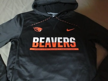 Nike【THERMA-FIT】OREGON ST BEAVERSパーカーUS L