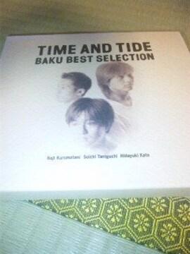 ベストCD:BAKU(バク)TIME AND TIDE