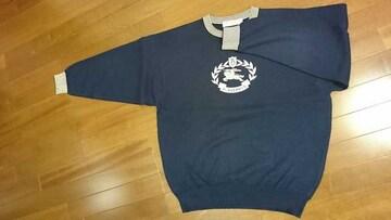 【美品!!】バーバリーエンブレムのセーター
