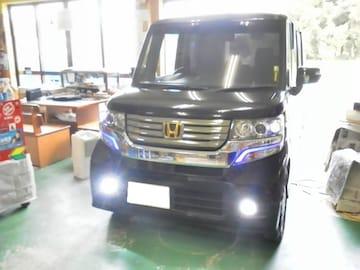 N-BOX カスタム専用 POWER LEDフォグライト