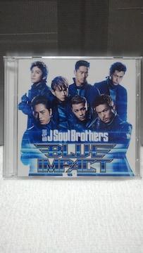 三代目 J Soul Brothers BLUE IMPACT [CD+DVD]