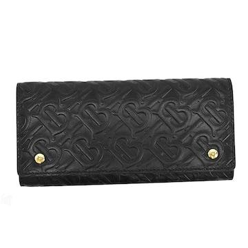 ◆新品本物◆バーバリー LS HERON 長財布(BK)『8011605』◆