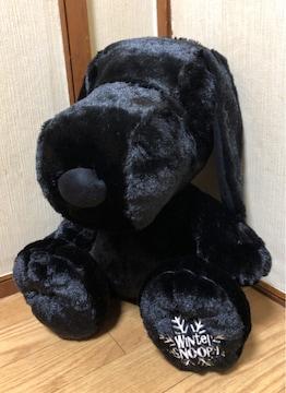 ■SNOOPY/ウィンタ-スヌ-ピ-*おおきなぬいぐるみ☆40�p*ブラック■
