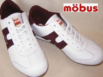 モーブス本皮レザー新品スニーカーDUISBURG�U1821T-1796 44