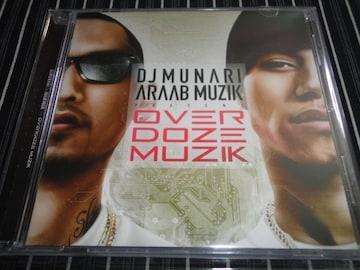 DJ MUNARI&ARAAB MUZIK『OVER DOZE MUZIK』美品(無也,般若,SCARS