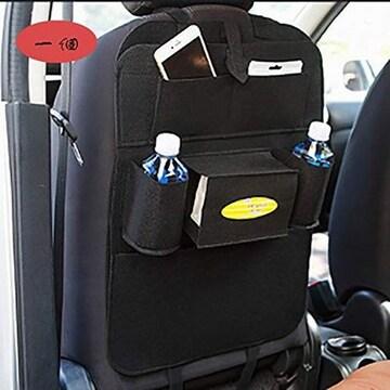 シートバックポケット lifetime 車用ポケット 後部座席収納 大容