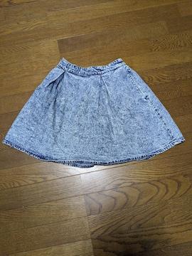 BROWNY STANDARD/スカート/デニム生地/膝丈/Fサイズ