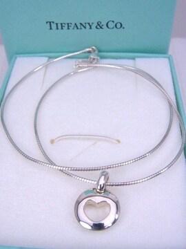 即買い Tiffany ティファニー シルバー PIERCED ピアスト ネックレス 未使用★dot
