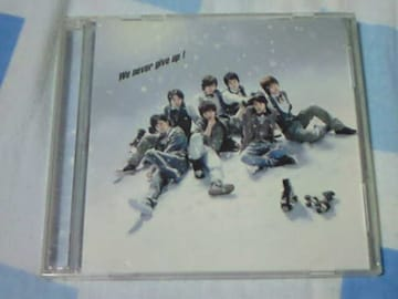 CD+DVD Kis-My-Ft2 We never give up! 初回限定盤