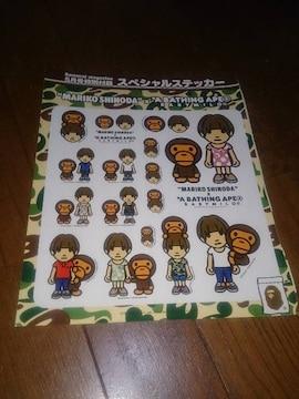 APE 篠田麻里子 ステッカー