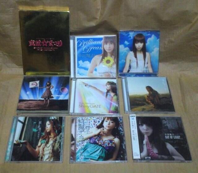 中川翔子 DVD 付きCD 8枚とDVD  < タレントグッズの