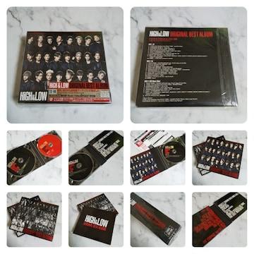 HiGH&LOW ORIGINAL BEST ALBUM (2CD+DVD)★中古品