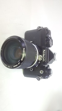 Nikon FE 黒 + Ai 43〜86�o