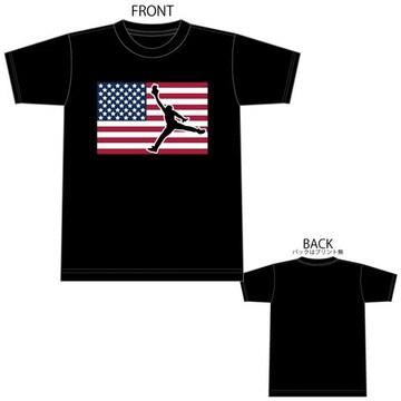 ジョーダン 星条旗 Tシャツ 半袖 半袖Tシャツ 1602 XXXL 3XL