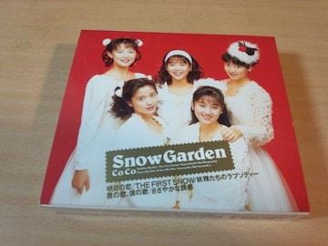 CoCo CD「スノウ・ガーデンSNOW GARDEN」クリスマス三浦理恵子●