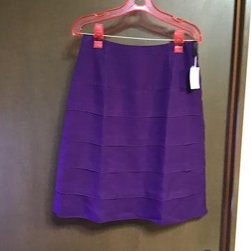 パープルカラースカート