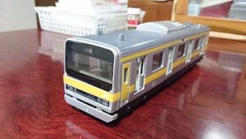 JR総武快速の模型(駅アナウンス等入り)