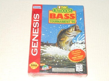 MD★TNN OUTDOORS BASS TOURNAMENT'96 GENESIS 海外版