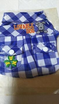◆新品◆チェックシャツ◆1号◆ブルー◆3980円