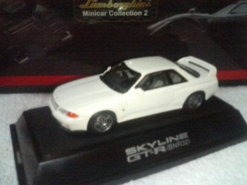 エブロ  青箱7  スカイライン GT-R             R32  ホワイト