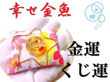 幸せ金魚★金運・くじ運・ギャンブル運・仕事★金魚鉢★パワーストーン/占
