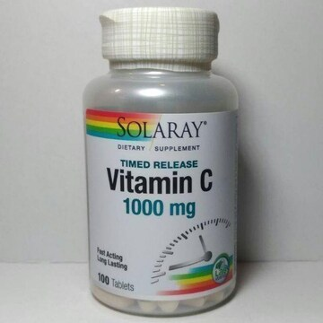 ソラレー ビタミンC 1000mg タイムリリース 100粒