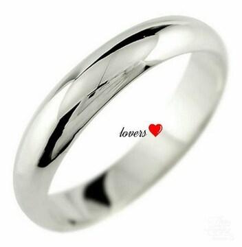 送料無料17号クロムシルバーサージカルステンシンプルリング指輪