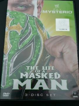 WWE (WCWECW) レイ ミステリオ ライフオブマスクマン三枚組 DVD/プロレスラードキュメンタリー