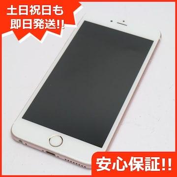 ●●美品●SOFTBANK iPhone6S PLUS 16GB ローズゴールド●