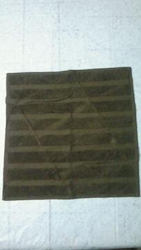 新品イッセイミヤケISSEY MIYAKEハンドタオル綿100%日本製ブラウン