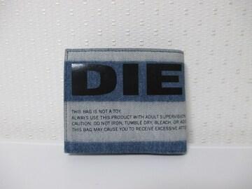 ☆DIESEL ディーゼル ビッグロゴ デニム地 財布 折り財布/メンズ☆新作