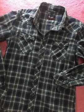 ニコル チェックシャツ