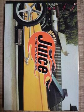 B'z LIVE-GYM 2000 Juice ツアーパンフレット