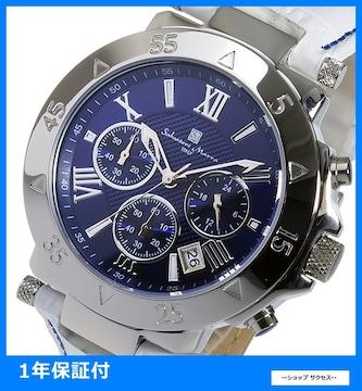 送無 新品 即買い■サルバトーレマーラ 腕時計 SM8005S-SSBLWH