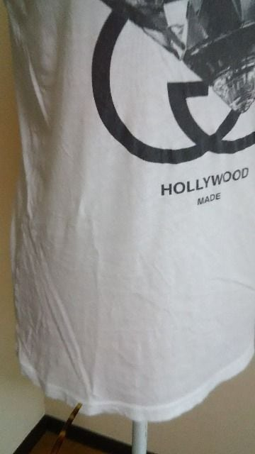 HOLLYWOOD MADE ハリウッドメイド薄TシャツM一律180円 < ブランドの