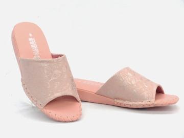Pansy パンジー 室内履き スリッパ 8666 Sサイズ(22.5cm) ピンク