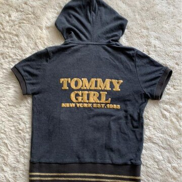 TOMMY  GIRL  パーカー  Sサイズ