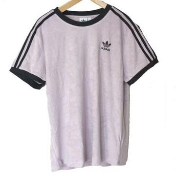 新品L★アディダスオリジナルスソフトバイオレット3stTシャツ