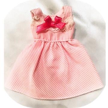*アウトフィット*リカちゃん人形★着せ替え洋服★ストライプOP