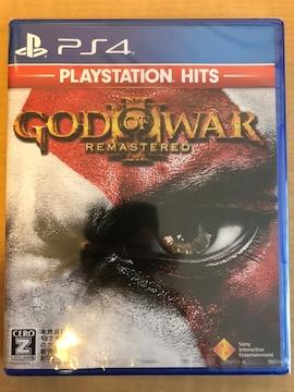 ゴッドオブウォー3 リマスタード 新品 PS4 ゴッドオブウォー�V