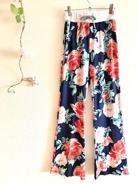 ★新品★ 花柄パンツ  パジャマ ルームウェア