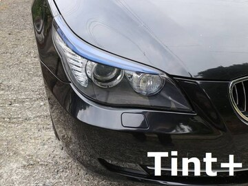 Tint+水洗→再利用OK BMW E60/E61後期 アイライン スモークフィルム F2