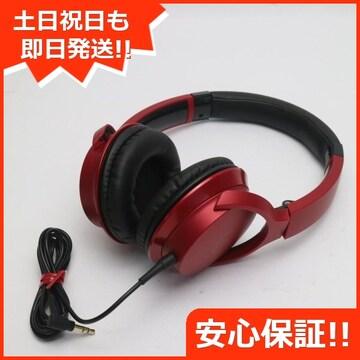 安心保証 超美品 ATH-AR3 SoundReality レッド