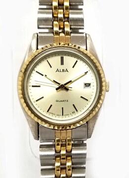 正規アルバレディースウォッチ腕時計SSステンレスコンビシ