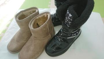 22.5�p★女の子靴★瞬足ブーツ 他
