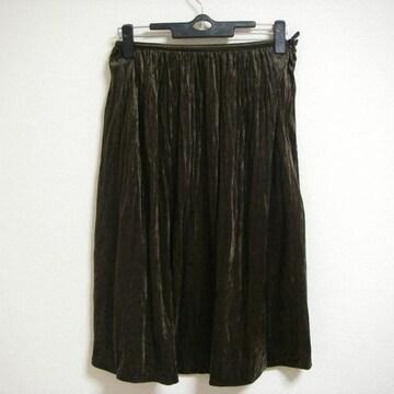 マヌーカ 38 ブラウン系 スカート ちょい長め